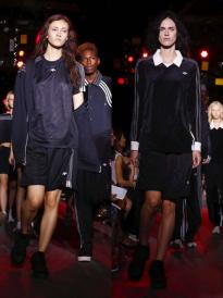 秀场 Alexander Wang adidas Originals 2017春夏纽约时装周